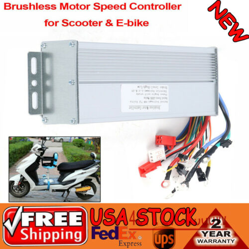 Motor Speed Controller 48-72V 1800//2000W Electric Bicycle Scooter Brushless DC