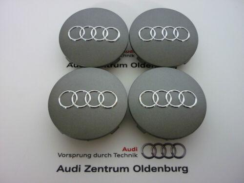 grande mozzo ORIGINALE Audi radzierkappen//AUDI Coperchio Mozzo//coprimozzo Audi nuovo