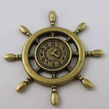 1/12, Dolls House miniature Ships Wheel Clock Fishing New office study etc LGW