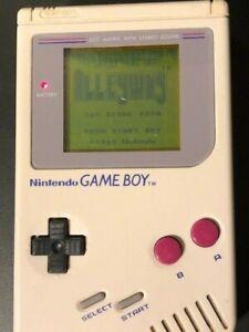 Nintendo-Game-Boy-Videospiel-System-Konsole-mit-9-Verschiedene-Spiele
