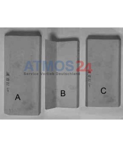 ATMOS D30P Ersatzteil Verbrennungsbereich Pelletkessel Oben D0047D30P