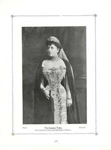 1904 The Countess Torby Wife Of Grand Duke Michael Of Russia Photo Portrait - Bishop Auckland, United Kingdom, United Kingdom - 1904 The Countess Torby Wife Of Grand Duke Michael Of Russia Photo Portrait - Bishop Auckland, United Kingdom, United Kingdom