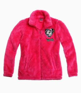 Details zu Monster High Winterjacke Polar Fleece Jacke Schneejacke Anorak Fleecejacke