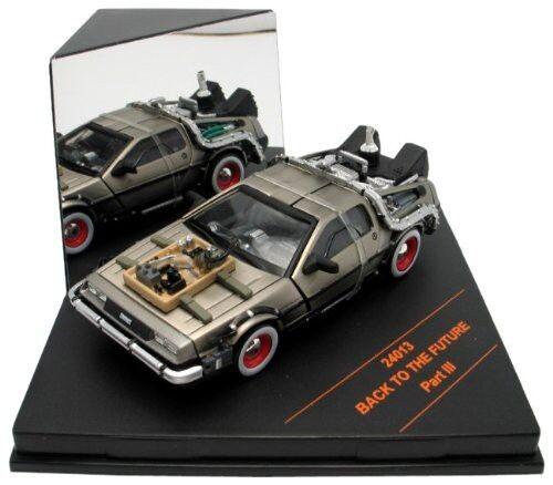 Modello Auto DeLorean da RITORNO FUTURO 3 Senza rojoaie 1 43 ORIGINALE VITESSE