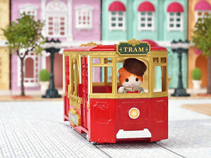 Sylvanian Families Calico Critters Town Series Ride Along Tram
