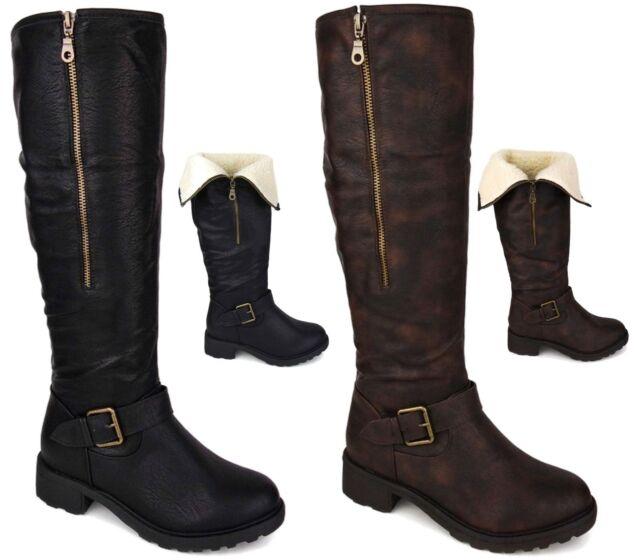 Evacuación mudo montículo  Ladies Clarks Stylish Knee Length BOOTS Caddy Belle 7 UK Black Leather D  for sale   eBay