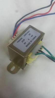 12V Transformer 6V-0-6V CT 4A 110Vac 220Vac to 12Vac