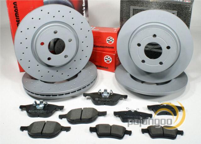 Bremsscheiben Bremsen Bremsbeläge für vorne Ford Tourneo Connect