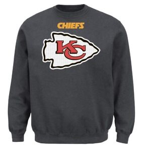 NWT* MAJESTIC KANSAS CITY CHIEFS CRITICAL VICTORY SWEATER $50 | eBay  for cheap