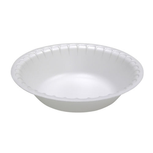 White Foam Bowl Polystyrene Disposable 12 Oz For Hot or Cold Food