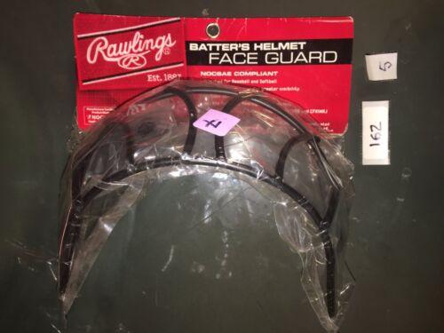 NEW Rawlings Baseball Softball  Batter/'s Helmet Face Guard  BBWG-B  NOCSAE