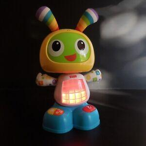 FISHER-PRICE-2015-MATTEL-robot-automate-jouet-enfant-parle-chante-anime-N4244