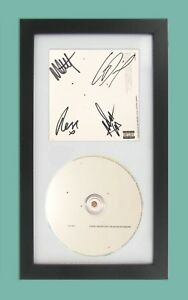 The 1975 Brief Inquiry Into Online Relationships Signed Cd Cover