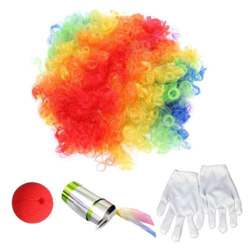 Fun Safe Clown Nase Clown Handschuhe Clown Perücke für Party Karneval