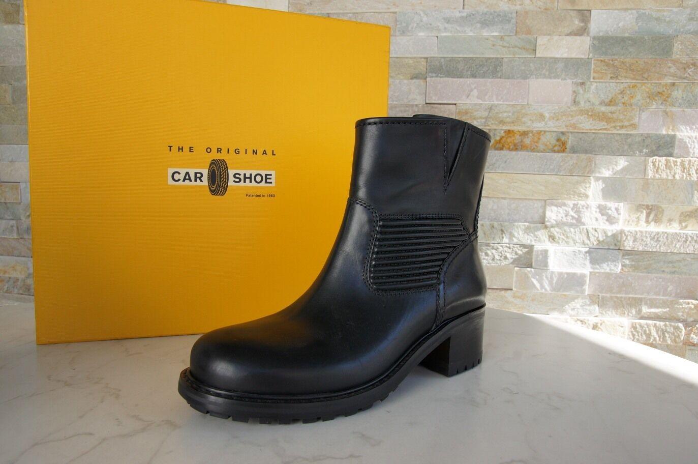 Car shoes Boots Sz. 36,5 Boots shoes KDT78J Black New Previously