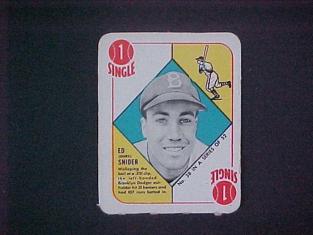 1951 Topps Duke Snider 38 Baseball Card