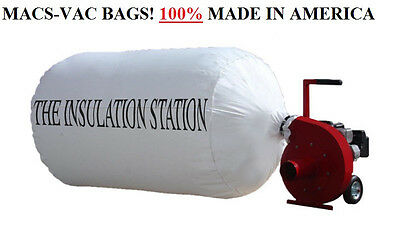 6 INSULATION REMOVAL VACUUM BAGS 75 CU FT HOLDS UP TO 300 LBS BEST QUALITY
