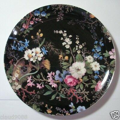 MAXWELL & WILLIAMS WILLIAM KILBURN-MIDNIGHT BLOSSOM PLATE  20CM GB WK01520 MIB