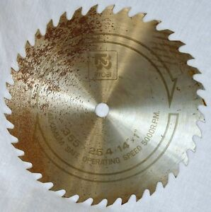 Ryobi circular saw blade 355x254 14x1 nos ebay image is loading ryobi circular saw blade 355x25 4 14 034 keyboard keysfo Choice Image