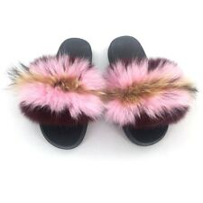 watch c6453 977c4 item 5 Womens Ladies Fur Slides Fuzzy Furry Slippers Comfort Sliders  Sandals Shoes New -Womens Ladies Fur Slides Fuzzy Furry Slippers Comfort  Sliders ...