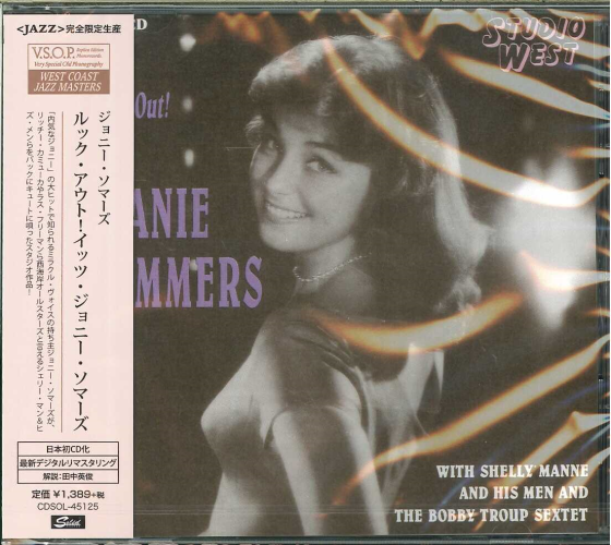 JOANIE SOMMERS-LOOK OUT! IT' S JOANIE SOMMERS-JAPAN CD Ltd/Ed C65