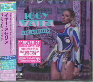 IGGY-AZALEA-THE-NEW-CLASSIC-DELUXE-EDITION-JAPAN-CD-BONUS-TRACK-E78