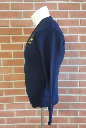 Massachusetts tamaño Vintage hombre EE Turnpike suéter v de mediano en cuello UU acrílico para Nuevo con wpraxPw