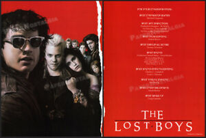 THE LOST BOYS__Orig. 1987 Trade print AD promo__For Your Consideration__Oscar AD