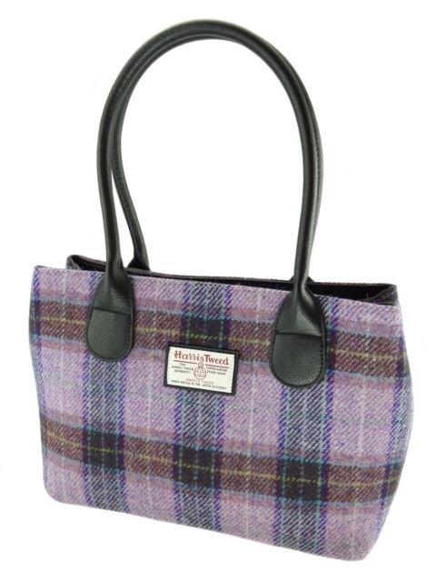 Las Authentic Harris Tweed Handbag Lb1003 Col34
