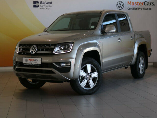 Volkswagen Amarok MY20 3.0 TDI D/Cab Highline 4Motion AT, Gold with 15000km, for sale!