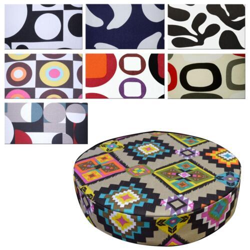 "2/""//5cm Round Box Shape Cover*Geometry Cotton Canvas Chair Seat Cushion Case *AL6"