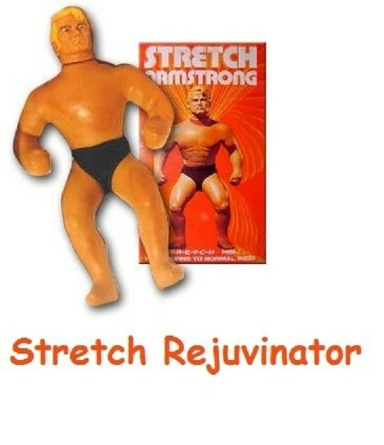 Stretch Armstrong Rejuvinator Oil preservative and revitlizer for latex skin