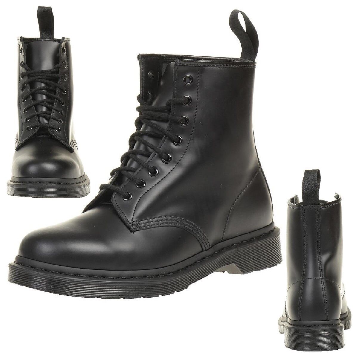 Dr.Martens 1460 Mono Smooth Boots Black