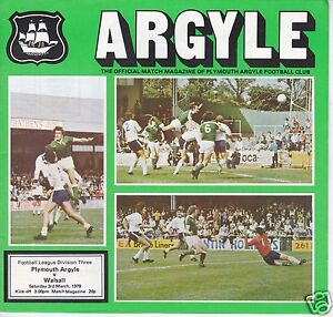 PLYMOUTH-ARGYLE-V-WALSALL-3RD-DIVISION-3-3-79