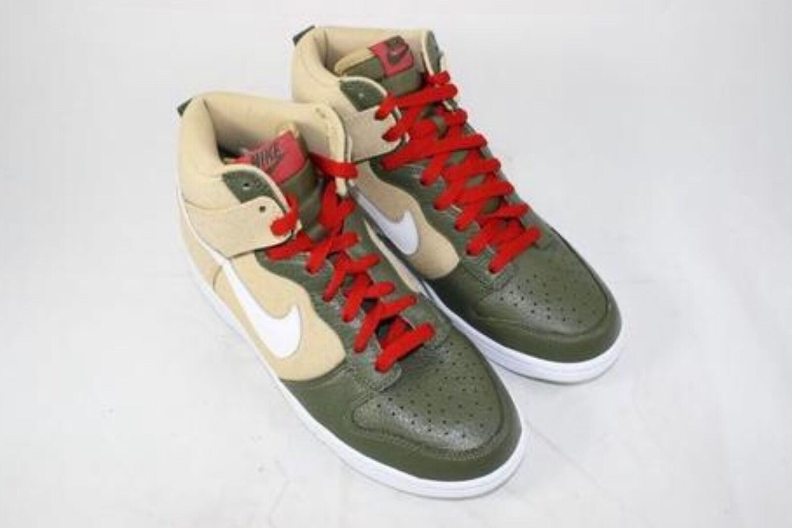 DS MENS NIKE DUNK HIGH Basketball SZ 8.5 NOBOXLID 317982 704 MAX AIR FREE