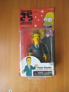 NECA THE SIMPSONS 25TH ANNIVERSARY SERIES 1 TOM HANKS ACTION FIGURES