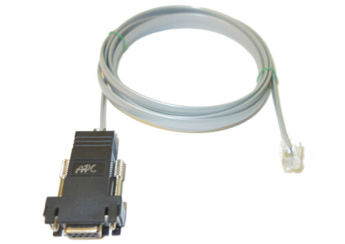 15ft Serial Cable to RJ12 FITS APC 940-0144 144A AP7000 6000 9000 Series PDU
