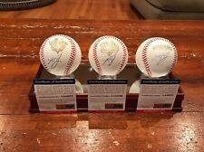 Madison Bumgarner Autographed 10 12 14 World Series Baseball Set SF Giants MLB