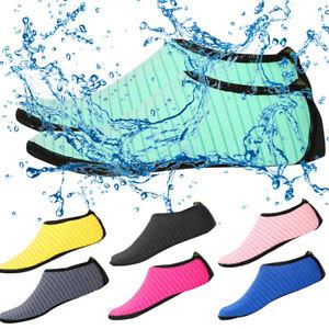 Men-Women-Skin-Water-Shoes-Aqua-Beach-Socks-Yoga-Exercise-Pool-Swim-Slip-On-Surf