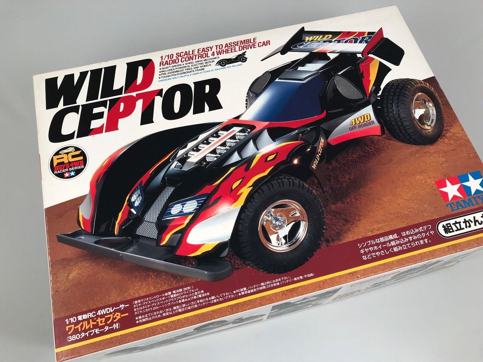 Tamiya 57606 Wild Ceptor Car RC 4WD 1 10 Kit modeling
