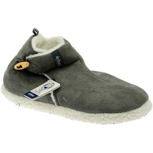 DE FONSECA ciabatte scarpa uomo donna invernali calde GRIGIO Ussaro TRENTO