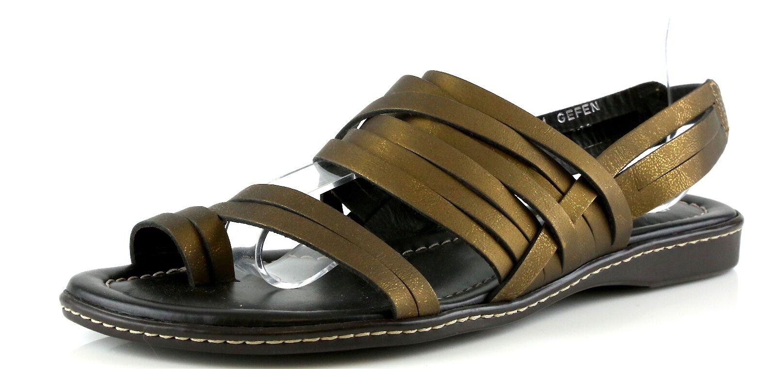 Donald J Pliner GEFEN Bronze Slingback Sandals 8926 Size 6 M NEW