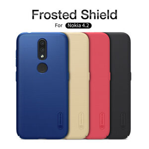Pour-Nokia-4-2-NILLKIN-Super-Frosted-Shield-Matte-Plastique-Rigide-Hard-Case-Cover