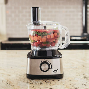 Ovation Multifunctional Food Processor, 1000W, Includes 10 Attachments, 2.5L
