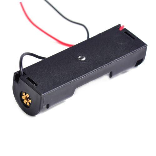5x Batteriehalter Akkuhalter Halterung mit Anschlusskabel Für 1x Batterie AA Neu