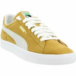 new concept b8d31 f4fa6 Details about Puma Suede 90681 - Yellow - Mens