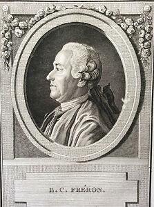 Élie C. Fréron journaliste critique polémiste Hubert Cochin 2e moit. XVIII e