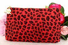 Sisley Leopard Print Makeup Bag waterproof new