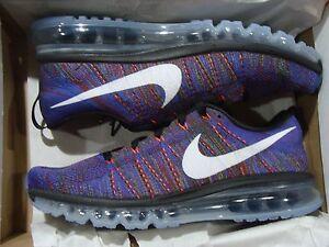 Men's Nike Flyknit Max 620469 016 Size 9.5~15