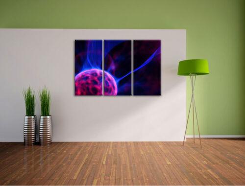 Luminous Energieball 3-Teiler Canvas Picture Wall Decoration Tattoo Art Print